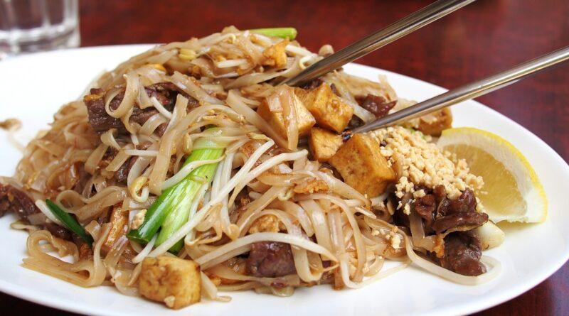 Comida Tailandesa saudável